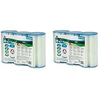 INTEX Type A Cartouche de Filtration pour piscines, Lot de 3 2-(Three Pack)