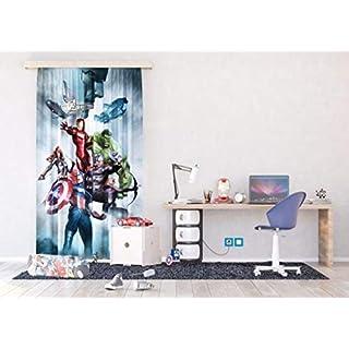 AG Design Marvel, Gardine/Vorhang, FCCL 4128, 140x245 cm - 1 Teil Stoff Multicolor 0,1 x 140 x 245 cm