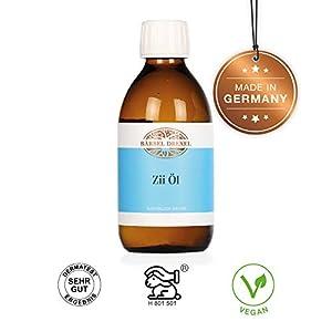 BÄRBEL DREXEL® Zii Öl Natürliches Mundziehöl Pfefferminze (250ml) Ayurvedische Mundspülung zum Entgiften 100% Vegane Herstellung Deutschland Ölziehkur Mundöl Ölziehen Zahnöl