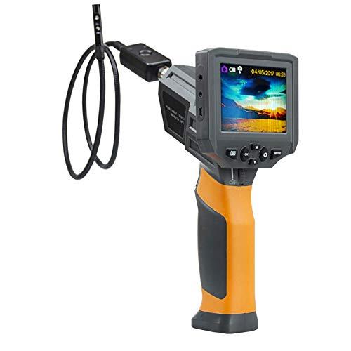 wangt Handinspektionskamera Halbstarres Kabelendoskop HD IP67 Wateproof Snake Camera-für Die Industrielle Sanitärreparatur,8.5mm(B)-1M Hd-snake Boots