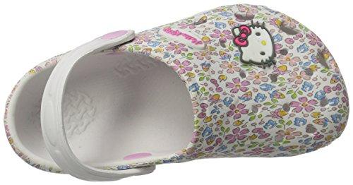 Hello Kitty Hk Paty, Sabots Fille Weiß (White)