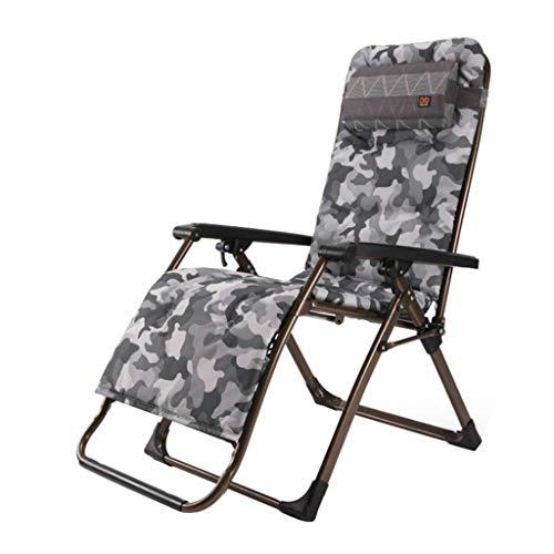 Fauteuil inclinable Zero Gravity Chair Chaise Longue avec accoudoirs et Porte-gobelet (Couleur : #2)