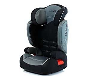 i-Safe Carseat Kid/Toddler Fix ISOfix Group 2-3 - GREY From 15-36kg iSafe