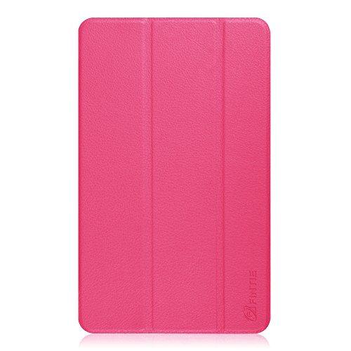 Acer Iconia Tab 8 A1-840 FHD Hülle Case [Neuerscheinung] – Fintie ultradünn Schutzhülle Tasche SlimShell Cover Etui mit Ständer für Acer Iconia Tab 8 A1-840 FHD (8 Zoll) Tablet, Magenta