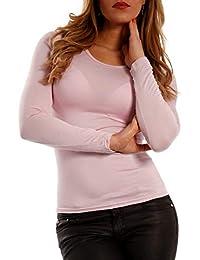 new concept c1d32 4fbc8 Suchergebnis auf Amazon.de für: Basic Langarmshirt - Pink ...
