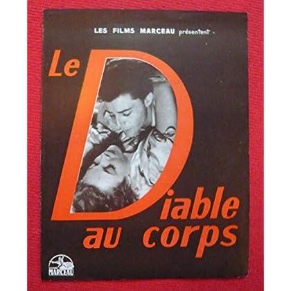 Dossier de presse de Le Diable au Corps (1947) – 24x31cm, 4 p - Film de Claude Autant-Lara avec M Presle, Gérard Philipe - Photos N&B - résumé du scénario en français - On joint une affiche