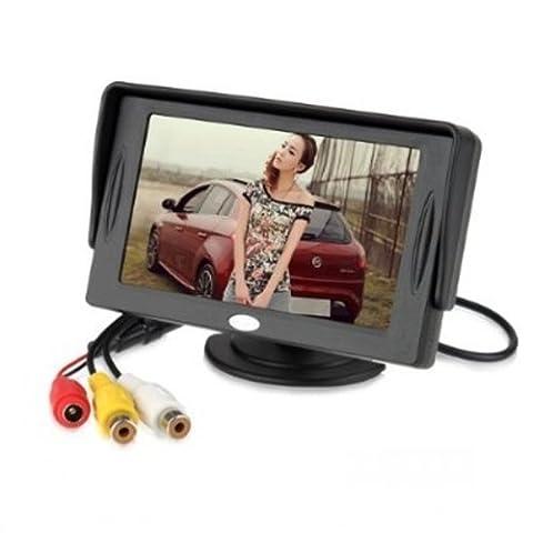 BW 4.3 Inch TFT-LCD Car Rearview Monitor Car DVD Monitor
