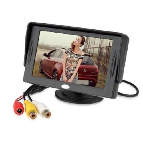 BW 4.3 pulgadas TFT-LCD Car Rearview monitor coche