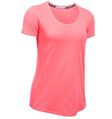 Under Armour Threadborne Streaker SS Maglia con Maniche Corte - Rosa (Brilliance) - M