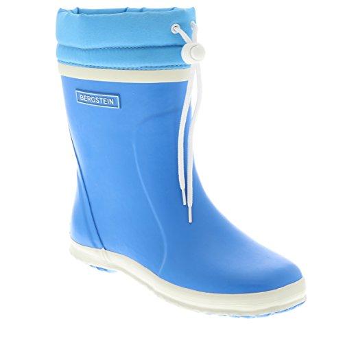 Bergstein Bn Winterbootc, Bottes mi-hautes en caoutchouc avec doublure chaude mixte enfant Blau (Cobalt)