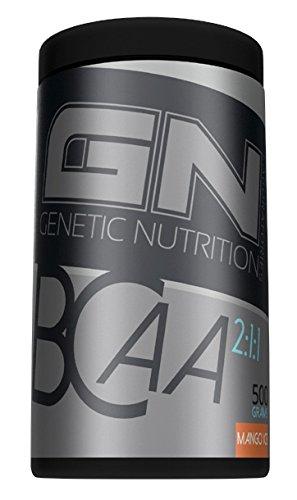 GN Laboratories BCAA 2:1:1 Aminosäure Muskelaufbau Regeneration Präbiotikum Sport Training Bodybuilding 500g (BCAA 2:1:1 500g Ice Tea)