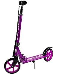 """Profiseller CHICCOT City Scooter Ruedas Grandes - BigWheel 8"""" - 20,5 cm Plegable con Ajuste de Altura y Correa (Rosado)"""