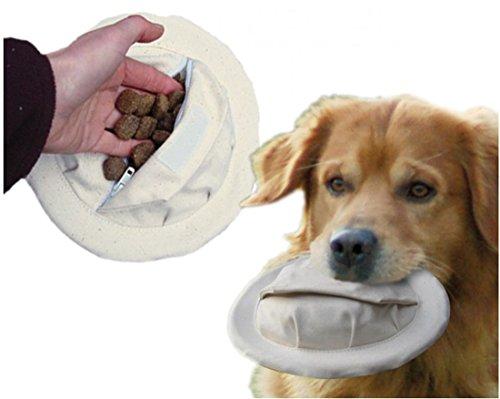 2 er Set Snackdummy Frisbee für Hunde Ø 15 cm schwimmfähig