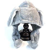 Gorros Gorro De Sombreros Gorras Calentar Cálido Unisex Beanie Otoño E Invierno Cálido Protector De Oreja De Felpa Lindo Sombrero para Montar ZHANGGUOHUA (Color : Gray)