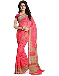 Vaamsi Chiffon Saree with Blouse Piece