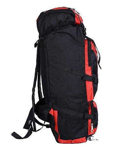 HWB/ 90 L Tourenrucksäcke/Rucksack / Laptop-Rucksäcke / Travel Organizer / Rucksack Camping & Wandern / Klettern / Reisen Draußen / Leistung Black