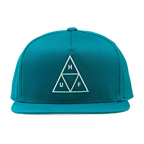 Imagen de huf  snapback triple triangle verde azulado  ajustable alternativa
