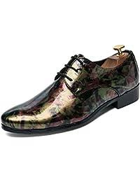 Hongjun-shoes Richelieus Homme 2018, Zapatos Oxford para Hombres de Negocios, Zapatos Formales