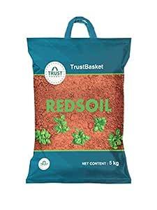 TrustBasket Garden Red Soil - 5 Kg