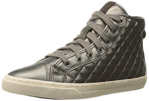 Geox D New Club A Damen Hohe Sneakers Grau (DOVE GREYC1018)