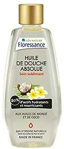Floressance par nature Hygiène Huile de Douche Absolue Soin Sublimant Coco et Monoï 200 ml - Lot de 3