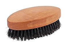 2-1/2 x 4-3/8-Inches , Oiled Pearwood Mens Hairbrush : Brstenhaus Redecker Natural Pig Bristle Mens Hairbrush with Oiled Pearwood Handle, 2-1/2-Inches by 4-3/8-Inches