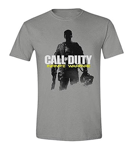 Close Up Call Of Duty Infinite Warfare T-Shirt - Soldier Pose