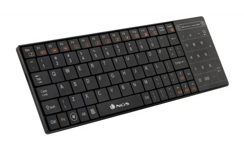 NGS TVFIGHTER - Teclado inalámbrico con TouchPad