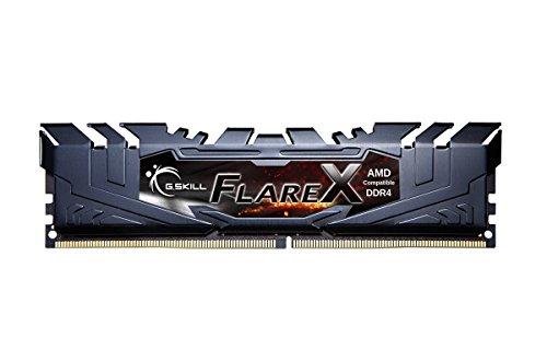 G.Skill F4-2400C16Q-32GFX módulo de - Memoria (32 GB, 4 x 8 GB, DDR4, 2400 MHz, Negro)