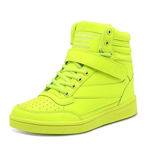 Donna Stivali Zeppa Sneakers Scarpe da Ginnastica da Polacchine Stivaletti Strappo Stealth Tacco 28 CM Scarpe Sportive