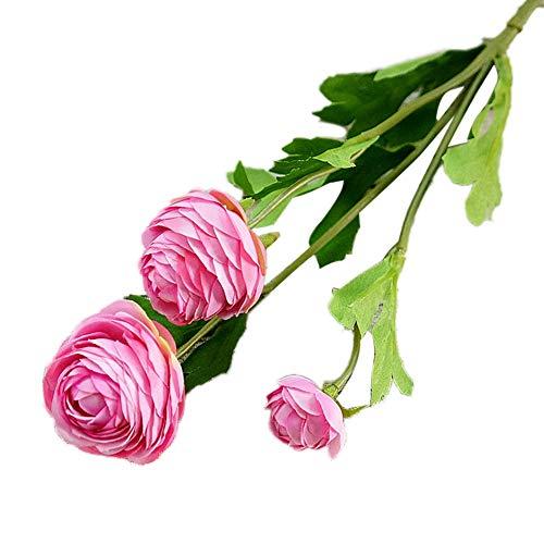 Ingrirt5Dulles 1 Stück Künstliche Blume Hausgarten Braut Hochzeit Arrangement Party DIY Dekor Light Purple