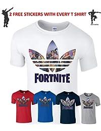 Fortnite T Shirt PS4 Playstation Men Kids Boys Gamer Girl Xbox Birthday Gift Top
