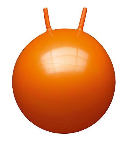 John 59009 - Sprungball Einfarbig (60 cm) - Hopperball, Hüpfball, Springball, Hopper Ball für Drinnen & Draußen - wiederaufblasbar, robust - Fitness für Kinder
