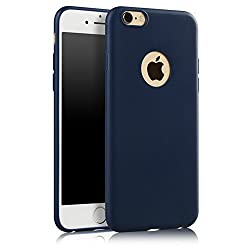 ikazen Juice Series Ultra Thin Soft TPU matte Case for Apple iPhone 6 6S - Blue