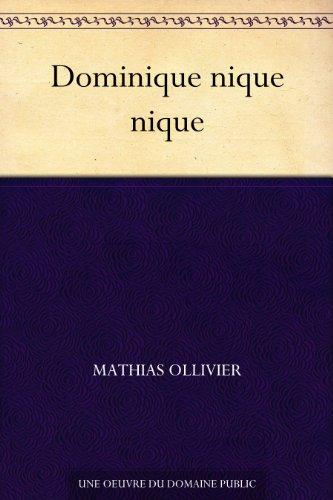 Couverture du livre Dominique nique nique
