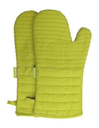 13-inch rayas guantes de horno