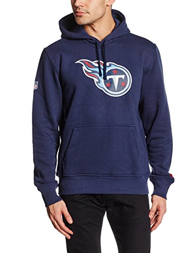 New Era Tennessee Titans Sweat à Capuche Homme, Bleu, FR : S (Taille Fabricant : S)