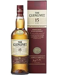 Glenlivet 15 Year Old Scotch Malt Whisky, 70 cl