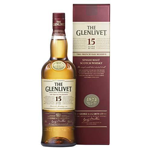 The Glenlivet - Whisky de malta escocés Founders Reserva