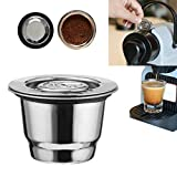 TAOtTAO Stainless Steel Coffee Filter Reusable Coffee Capsule Make For Nespresso