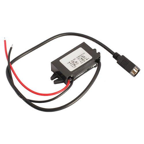 Vktech-Adattatore-caricabatterie-da-auto-da-12-V-a-5-V-3-A-15-modulo-adattatore-tipo-Step-Down-con-cavo-USB