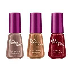 Avon Color Me Pretty Nail Enamel (set of 3)