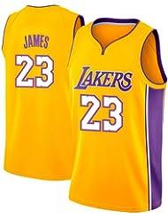 VICTOREM Lebron James #23 Camiseta de Baloncesto para Hombres - NBA Lakers, Nuevo Tela