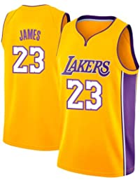 6dcbe09b9 VICTOREM Lebron James  23 Camiseta de Baloncesto para Hombres - NBA Lakers