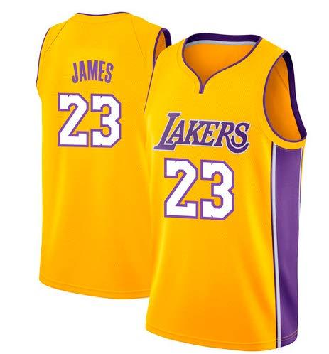 timeless design b97a5 232c9 VICTOREM Lebron James #23 Camiseta de Baloncesto para Hombres - NBA Lakers,  Nuevo Tela Bordada Camiseta Deportivas de Jersey Swingman (Tamaño: M-XXL)
