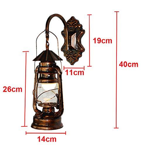 Retro Wandleuchte Industrielle Rustikale Messing Veranda Wandleuchte Lampe E27 Wandleuchte, B -