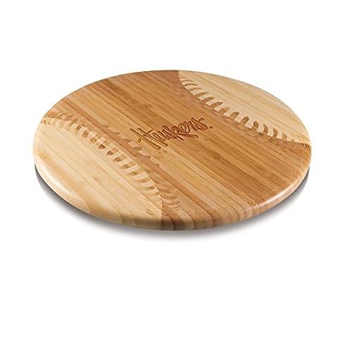 NCAA Nebraska Cornhuskers Homerun! Bamboo Cutting Board with Team Logo, 12-Inch