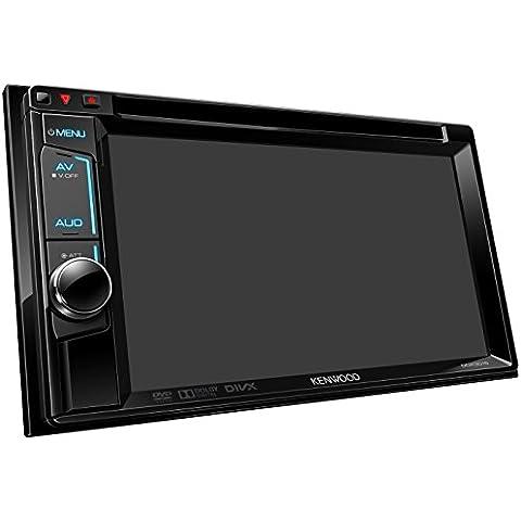 Kenwood DDX3015 Monitor con DVD, Nero/Multicolore - Potenza Fet