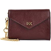 11510201e7f5 MICHAEL by Michael Kors Money Pieces Oxblood Carryall Envelope Chain Wallet