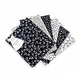 Craft Cotton Q1930-01 Ombre Trends Black/White Fat Quarters 45x55cm | 6pk
